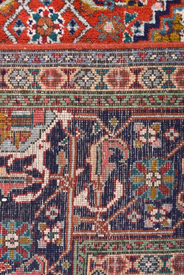 Persian red rug - 2x3 meters Tabriz rug - DR461-5529