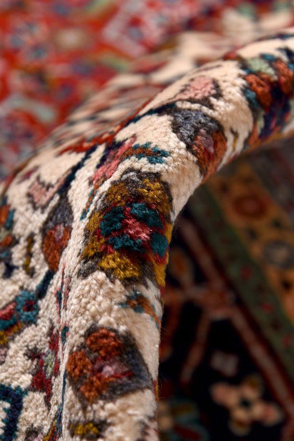 Persian red rug - 2x3 meters Tabriz rug - DR461-5535