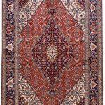 Persian red rug - 2x3 meters Tabriz rug - DR461-5536