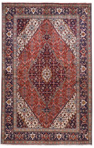 Persian red rug - 2x3 meters Tabriz rug - DR461-5536