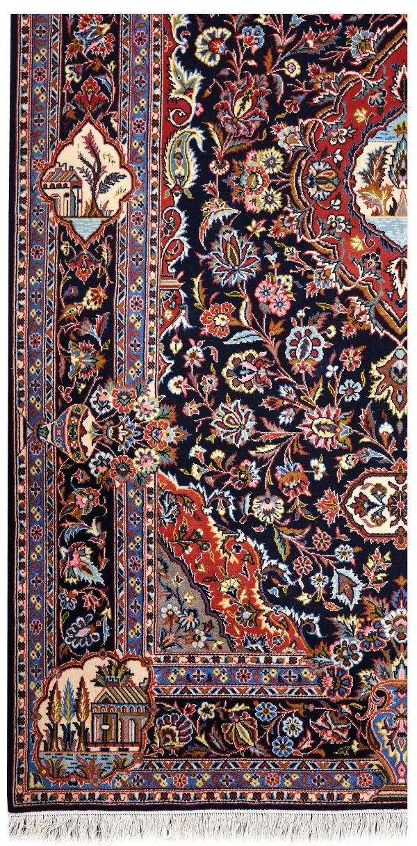 Small Kurk High Quality Oriental Rug DR464-5573