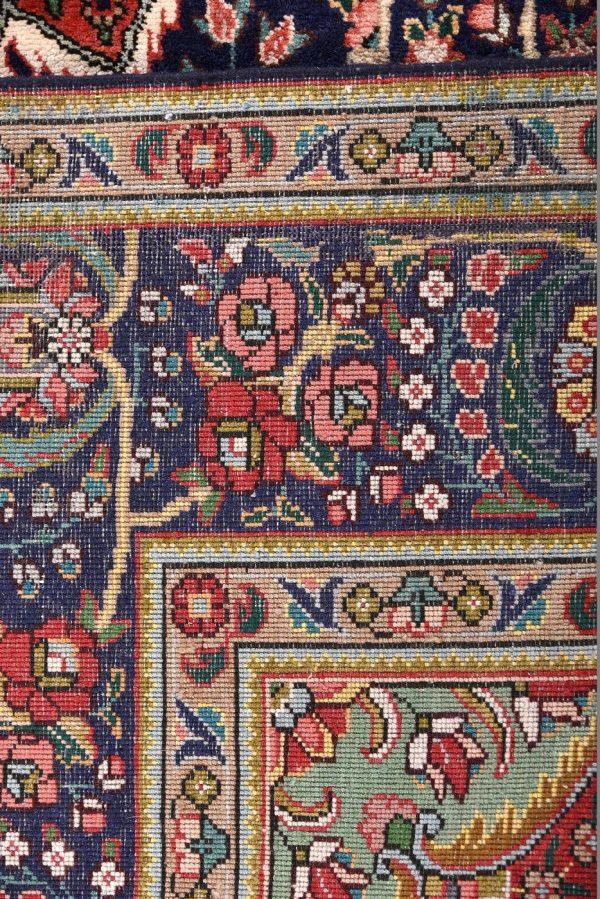 unique-persian-blue-carpet-tabriz-blue-rug-dr460-5500e