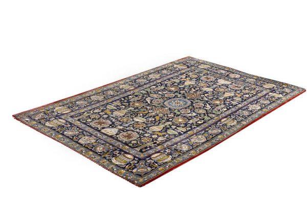 Kashan Rug, Unique Blue Persian Rug DR474 5698