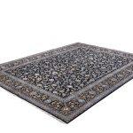 Kashan carpet, Blue Shah Abbasi Design DR449 5649