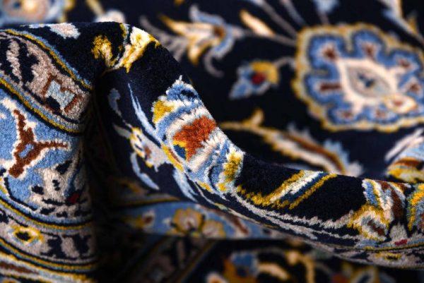 Kashan carpet, Blue Shah Abbasi Design DR449 5654