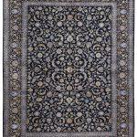 Kashan carpet, Blue Shah Abbasi Design DR449 5655
