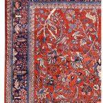 Sarouk Carpet, 50 Years Old Sarouk Carpet DR446 5641