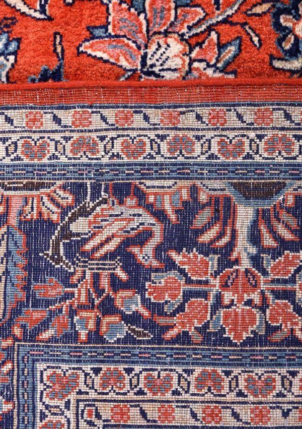 Sarouk Rug, 50 Years Old Sarouk Carpet DR446 5643