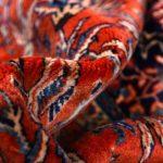 Sarouk Rug, 50 Years Old Sarouk Carpet DR446 5646