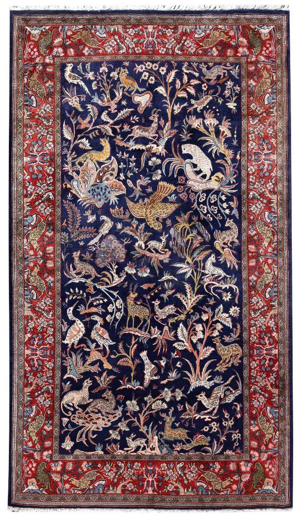 Sarouk carpet, 40 Years Old Sarouk Rug DR447 5658