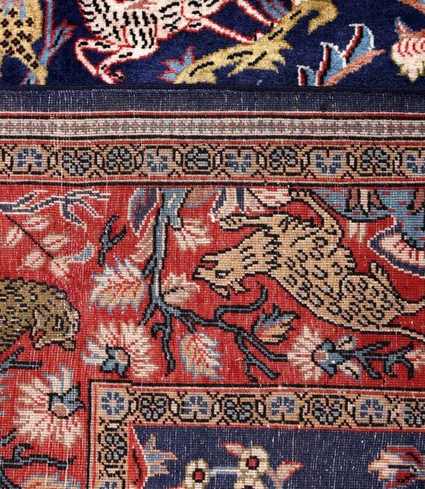 Sarouk carpet, 40 Years Old Sarouk Rug DR447 5660