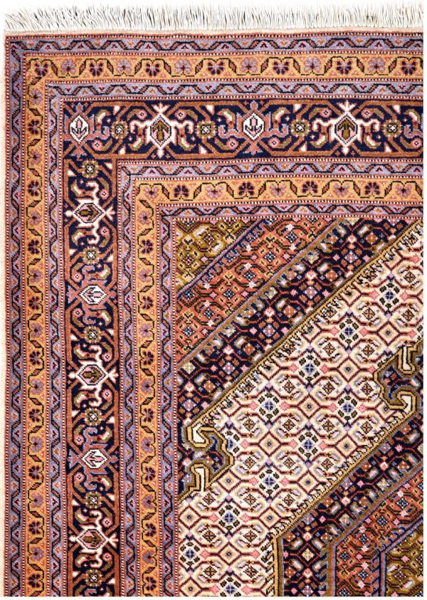 Cream Rug, 40 years old Ardabil Rug DR 491-7177