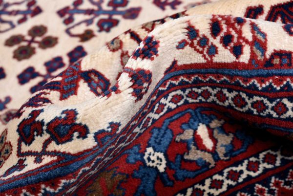 Cream Rug, handmade Josheghan rug for sale DR381 7140