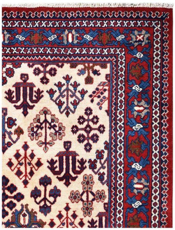 Cream Rug, handmade Josheghan rug for sale DR381 q