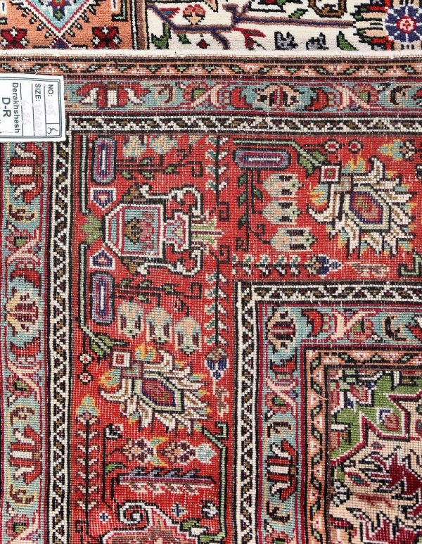 Tabriz Carpet, Ghoba Design Persian carpet DR308 0366