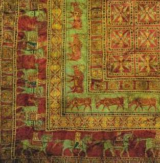 2500-year-old Pazyryk Persian Carpet