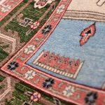 Cream Carpet, Small Ardabil Carpet for Sale DR430 0417
