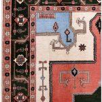 Cream Carpet, Small Ardabil Carpet for Sale DR430 0425