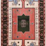 Cream Carpet, Small Ardabil Carpet for Sale DR430 0426