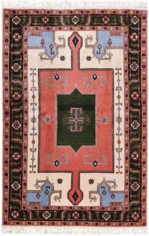 Cream Carpet, Small Ardabil Carpet for Sale DR430 0426