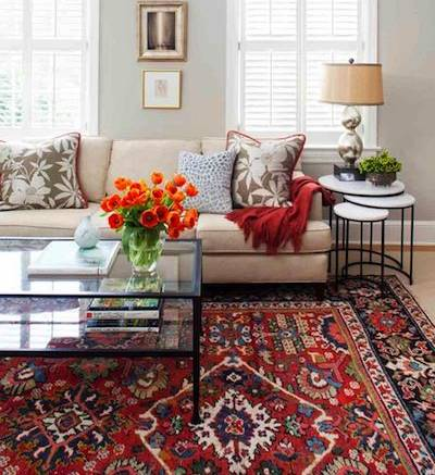 Persian Red Rugs And Carpets Decorating Carpetship