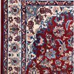 Isfahan Carpet, 60 Years old Shah Abbasi Persian Carpet DR328 0429