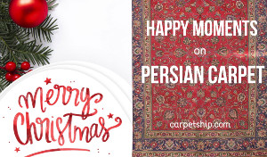 Persian Carpet Merry Christmas