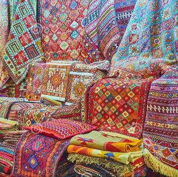 Persian carpet dyes