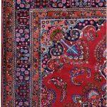 Red Carpet, 2x3m Sabzevar Persian Carpet DR135 0397