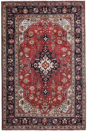 Red Carpet, Handmade Persian Red Carpet DR-306-0376
