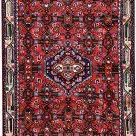 Angelas Carpet, Injelas rug, 1×1.5m Hamadan Red Rug DR215 0453