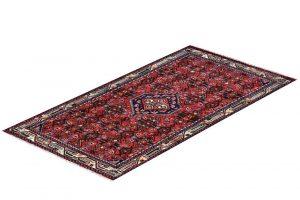 Injelas Carpet, 1x1.5m Hamadan Red Rug DR215 0453a