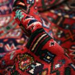 Persian Carpet, 1×1.5m Hamadan Red Rug DR215 0460