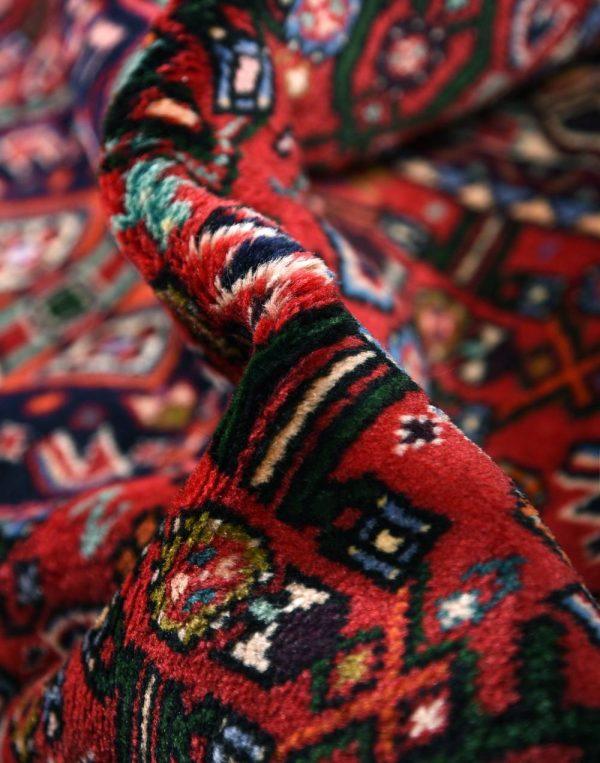 Persian Carpet, 1x1.5m Hamadan Red Rug DR215 0460