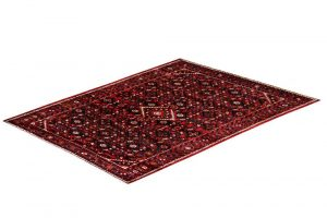 Hosseinabad Carpet, Small Persian Red Rug DR493 0479a