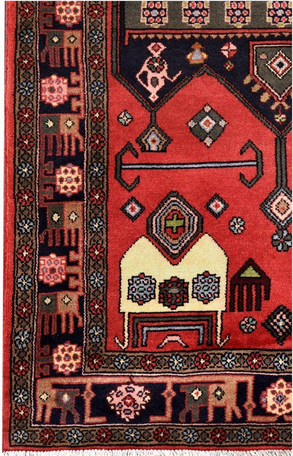 Nomadic Carpet, Handmade Tribal carpet for sale DR495 0518