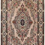Grey Oriental Carpet, Sarouk Persian Oriental Rug DR518 0554