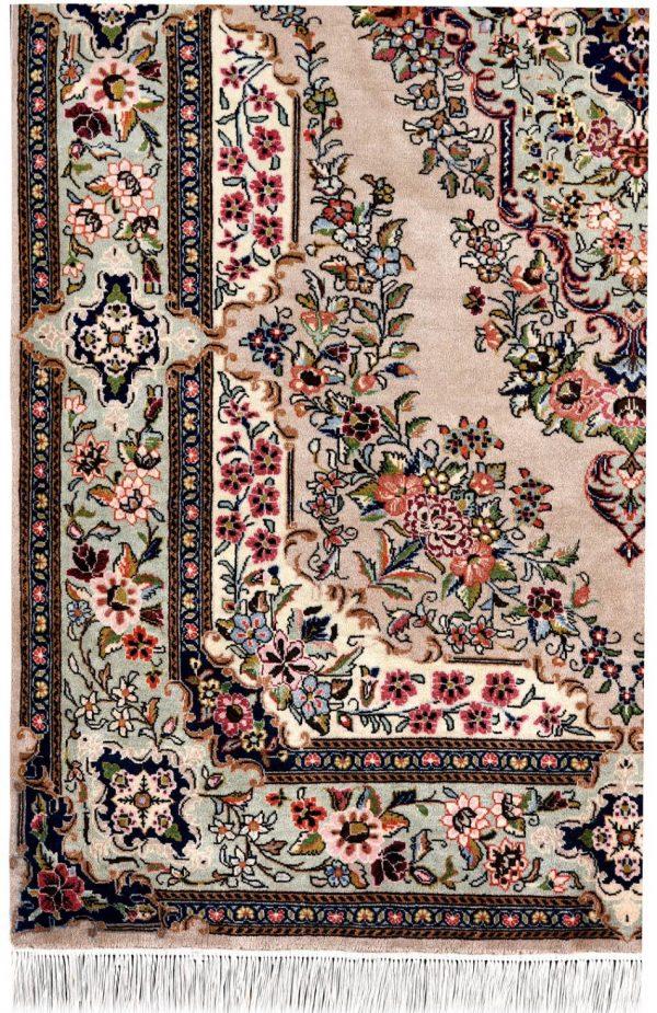 Grey Oriental Carpet, Sarouk Persian Oriental Rug DR518 0555