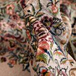 Grey Oriental Carpet, Sarouk Persian Oriental Rug DR518 0561