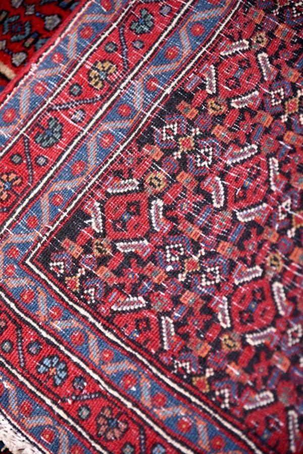 Kurdish Oriental Carpet, Red Oriental Rug DR3320510