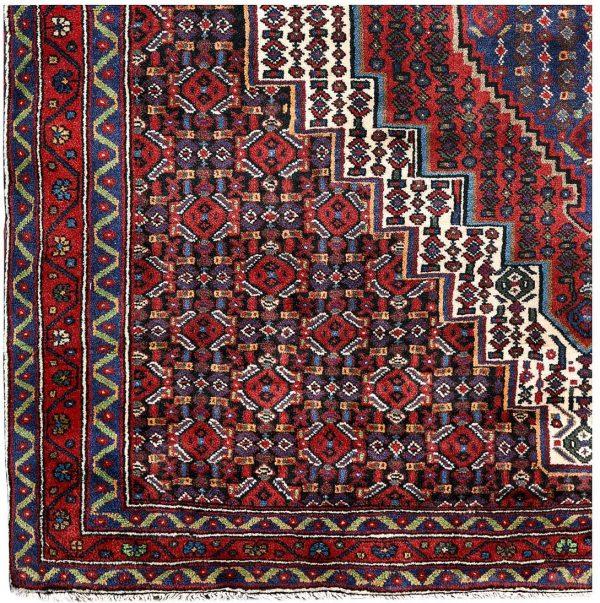 Kurdish Oriental Rug, Oriental Red Carpet DR329 0524