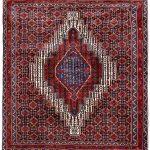 Kurdish Oriental Rug, Oriental Red Carpet DR329 0525