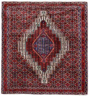 Kurdish Oriental Rug, Oriental Red Carpet DR329 0525