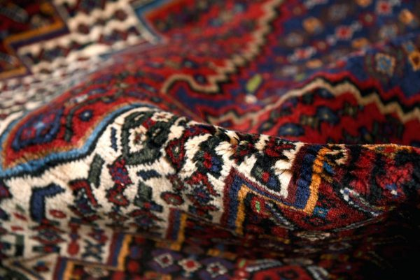 Kurdish Oriental Rug, Oriental Red Carpet DR329 0540