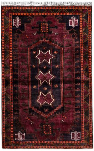 Purple Carpet, Tribal Persian Purple Rug for sale DR502 0595